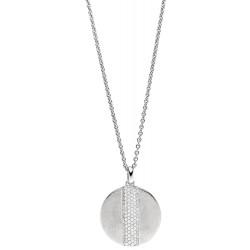 Viventy 782842 Halskette mit Anhänger Damen 101 Zirkonia Silber 47 cm