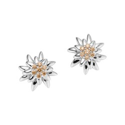 Viventy 782894 Ohrstecker Ohrringe Damen Edelweiß Sterling-Silber