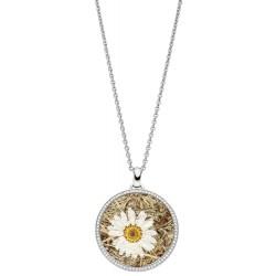 Viventy 783312 Halskette mit Anhänger Damen Margerite Zirkonia Silber