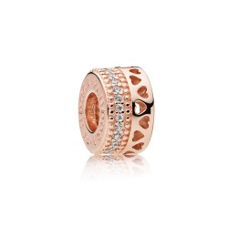 Pandora Rose 787415CZ Charm Zwischenelement Hearts Of Pandora
