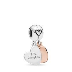 Pandora Rose 787783EN16 Charm-Anhänger Mother and Daughter Love Silber