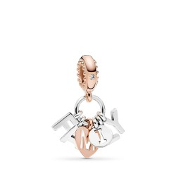 Pandora Rose 787785CZ Charm-Anhänger Perfect Family Silber