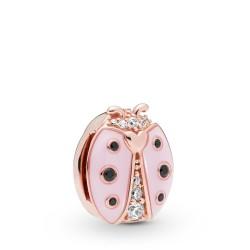 Pandora Reflexions Rose 787970EN160 Charm Clip Pink Ladybird