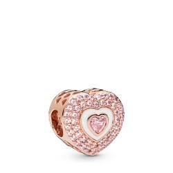 Pandora Rose 788097NPR Charm Hearts on Hearts