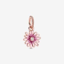Pandora Rose 788771C01 Charm-Anhänger Rosafarbenes Gänseblümchen