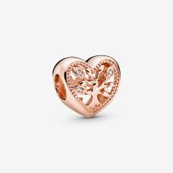 Pandora Rose 788826C01 Charm Damen Stammbaum Herz