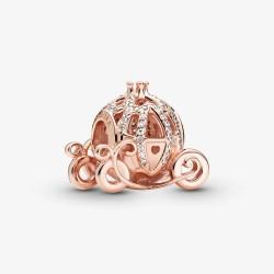 Pandora Disney Rose 789189C01 Charm Cinderella Funkelnde Kutsche