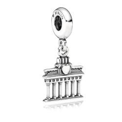 Pandora 791081 Charm Anhänger Berlin Brandenburger Tor