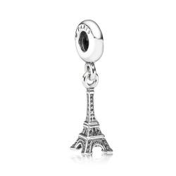 Pandora 791082 Charm-Anhänger Eifelturm Sterling-Silber