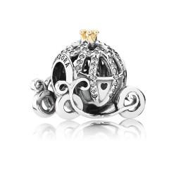 Pandora Disney 791573CZ Charm Cinderella's Kutsche