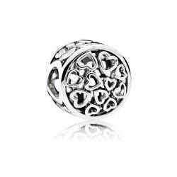 Pandora 791980 Charm Liebes-Gefühle Sterling-Silber