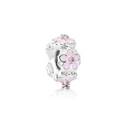 Pandora 792088PCZ Charm Zwischenelement Rosa Magnolienblüte