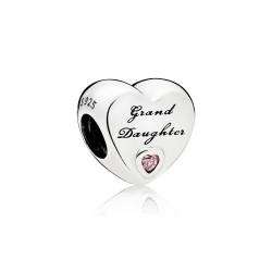 Pandora 796261PCZ Charm Grand Daugther-Herz