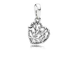 Pandora 797140 Charm-Anhänger Flourishing Hearts Herz Silber