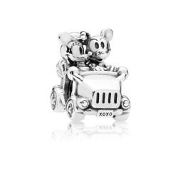 Pandora Disney 797174 Charm Mickey & Minnie Vintage Car Sterling Silber