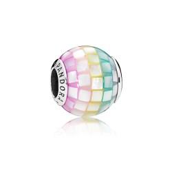 Pandora 797183MPR Charm Mulit-Colour Mosaic Silber Perlmutt