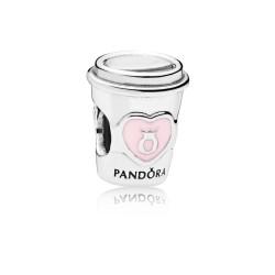 Pandora 797185EN160 Charm Drink To Go Silber