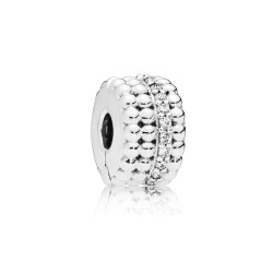 Pandora 797520CZ  Original Clip Charm Beaded Brilliance Sterling-Silber