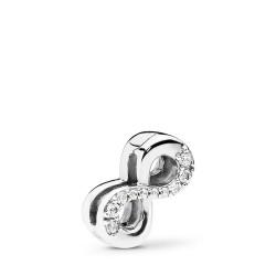 Pandora Reflexions 797580CZ Charm Clip Sparkling Infinity Sterling-Silver