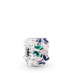 Pandora 797863ENMX Clip Charm Butterfly Arrangement Silber