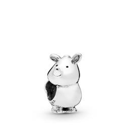 Pandora 798023 Charm Rino the Rhinoceros Sterling-Silber