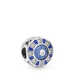 Pandora 798031EN195 Charm Blue Mosaic Sterling-Silber