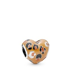 Pandora 798065ENMX Charm Spotted Heart Sterling-Silber