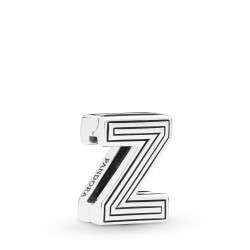 Pandora Reflexions 798222 Charm Clip Letter Z Sterling-Silber