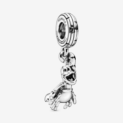 Pandora Disney 798229 Charm-Anhänger The Little Mermaid Sebastian Silber