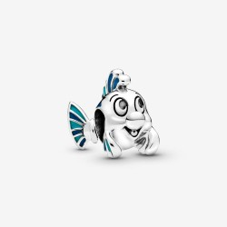 Pandora Disney 798230ENMX Charm The Little Mermaid Flounder Fabius Silber