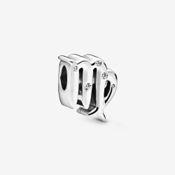 Pandora 798417C01 Charm Damen Funkelnde Jungfrau Sterling-Silber