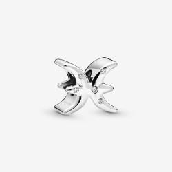 Pandora 798426C01 Charms Damen Funkelnde Fische Sterling-Silber