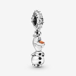 Pandora Disney 798455C01 Charm-Anhänger Frozen Eiskönigin Olaf Silber