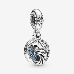 Pandora Disney 798456C01 Charm Frozen Eiskönigin Elsa und Nokk Silber