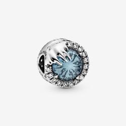 Pandora Disney 798458C01 Charm Frozen Eiskönigin Winterkristall Silber