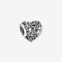 Pandora 798462C00 Charm Damen Offen Gearbeitete Sterne Silber