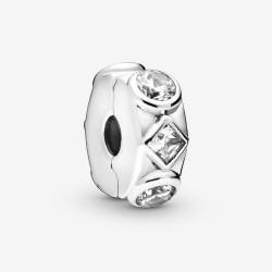 Pandora 798463C01 Charm Clip Geometric Shapes Sterling-Silber