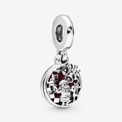 Pandora 798468C01 Charm-Anhänger Weihnachtsmann Sterling-Silber