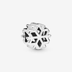 Pandora 798469C00 Charm Damen Polierte Schneeflocke Sterling-Silber