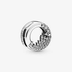 Pandora Reflexions 798475C01 Clip-Charm Damen Funkelnde Eiszapfen Silber
