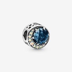 Pandora 798524C01 Charm Damen Mond und Nachthimmel Sterling-Silber