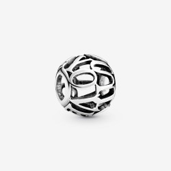Pandora 798678C00 Charm I Love You Offen Sterling-Silber