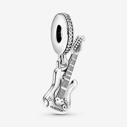 Pandora 798788C01 Charm-Anhänger Elektrische Gitarre Silber