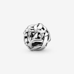Pandora 798824C01 Charm Damen Unendlichkeit Sterling-Silber