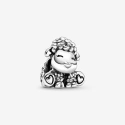 Pandora 798870C00 Charm Damen Patti das Schaf Sterling-Silber