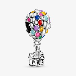Pandora Disney 798962C01 Charm Oben Haus und Ballon Silber
