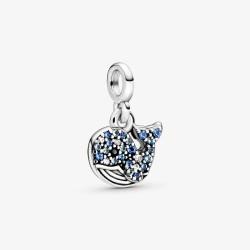 Pandora Me 798972C01 Charm-Anhänger Mein Blauer Wal Silber