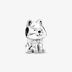 Pandora 799030C01 Charm Japanischer Akita Inu Hund Silber