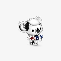 Pandora 799031C01 Charm Damen Surfender Koala Silber