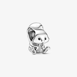 Pandora 799105C01 Charm Damen Süßes Eichhörnchen Silber